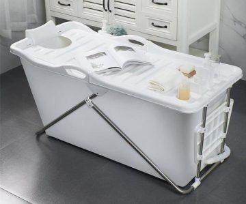 ZitBad XL kopen - Bath Bucket 2.0 - Opvouwbaar ligbad voor thuis - Zitbad voor Volwassenen - ZitBadXL.nl