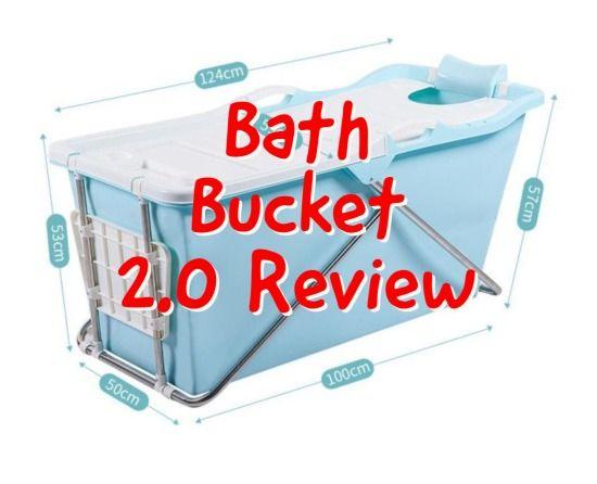 Bath Bucket 2.0 Review - Het opvouwbare zitbad - ZitBad XL voor volwassenen - www.ZitBadXL.nl