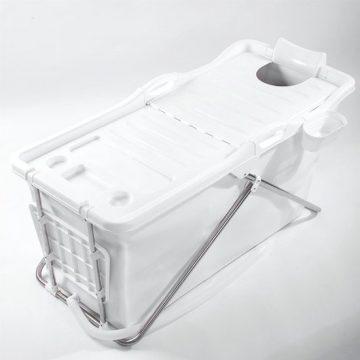 Bath Bucket 2.0 wit - Opvouwbaar voor Volwassenen - Zitbad ligbad voor thuis - ZitBadXL.nl