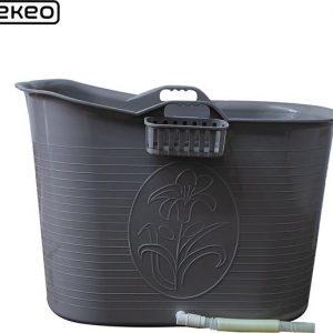 EKEO Bath Bucket Zilver - Zitbad voor volwassenen -Bath Bucket zilver- www.ZitBadXL.nl