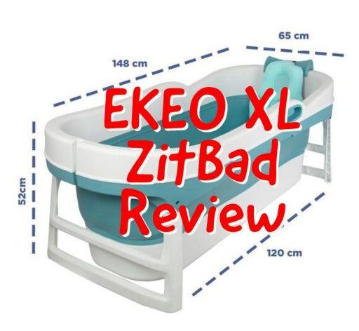 EKEO XL Zitbad Review - Bath Bucket voor volwassenen - Opvouwbaar ligbad voor thuis - Zitbad voor Volwassenen - ZitBadXL.nl
