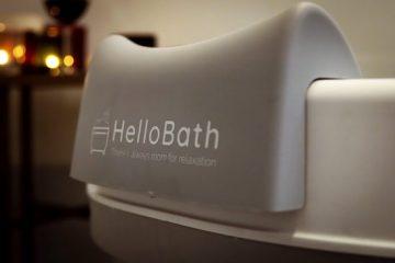 HelloBath Opvouwbaar bad XXL 148cm roze - Bath Bucket 2.0 - plastic badkuip - Inklapbaar ligbad - Zitbad voor Volwassenen - ZitBadXL.nl
