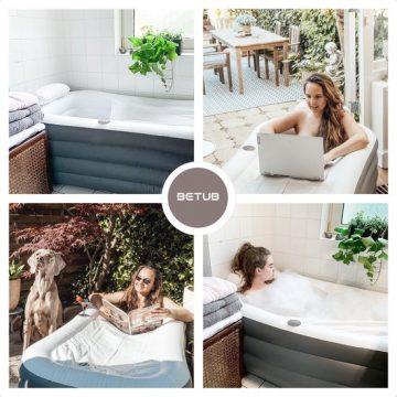 ZitBad XL kopen - Opblaasbaar Bad Ligbad, Zitbad - Opvouwbaar ligbad voor thuis - Zitbad voor Volwassenen - ZitBadXL.nl