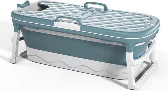 Russle Opvouwbaar zitbad xxl - 138cm blauw - Bath Bucket 2.0 - plastic badkuip - Inklapbaar bad - Zitbad voor Volwassenen - ZitBadXL.nl