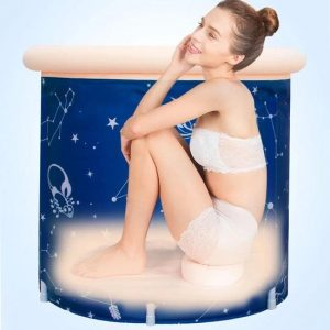 Showersupply opvouwbaar ZitBad - air bath XL opblaasbaar - Zitbad Voor Volwassenen - zitkussen - ZitBadXL.nl