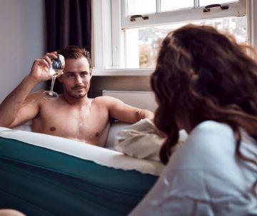 Tubble Royale air bath - XL opblaasbaar Zitbad Voor Volwassenen - ZitBadXL.nl