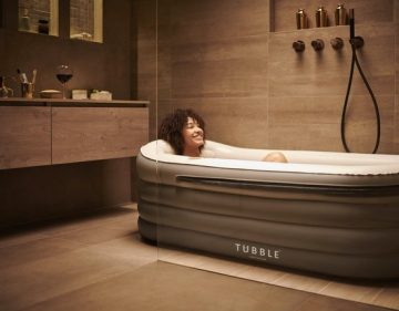 Tubble Royale air bath XL opblaasbaar Zitbad Voor Volwassenen - ZitBadXL.nl