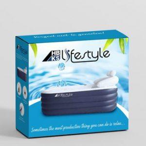 Opblaasbaar Ligbad Voor Volwassenen - Zitbad Voor Volwassenen - zeep bubbels - ZitBadXL.nl
