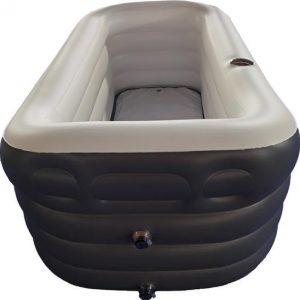 Cless opblaasbaar bad - ik wil in bad - alternatief bad - ligbad voor volwassenen - www.ZitBadXL.nl