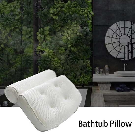 FlinQ Zitbad hoofdkussen en nek kussen - zitbad voor volwassenen - bath Bucket - www.ZitBadXL.nl
