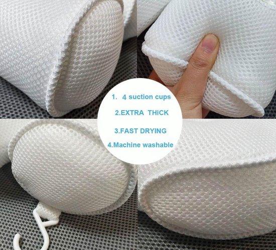 FlinQ Zitbad -hoofdkussen en nek kussen - zitbad voor volwassenen - bath Bucket - www.ZitBadXL.nl