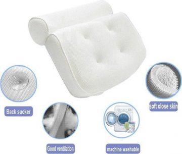 FlinQ Zitbad met antistress nek kussen - zitbad voor volwassenen - bath Bucket - www.ZitBadXL.nl