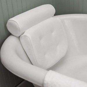 FlinQ Zitbad met hoofdkussen ontspannen - zitbad voor volwassenen - bath Bucket - www.ZitBadXL.nl