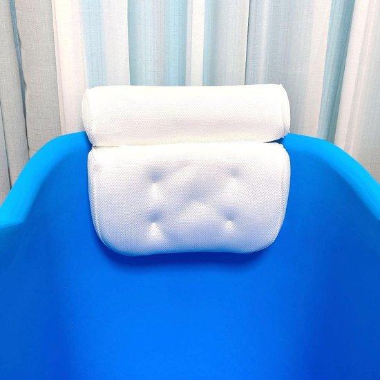 FlinQ Zitbad met nek kussen - zitbad voor volwassenen - bath Bucket - www.ZitBadXL.nl
