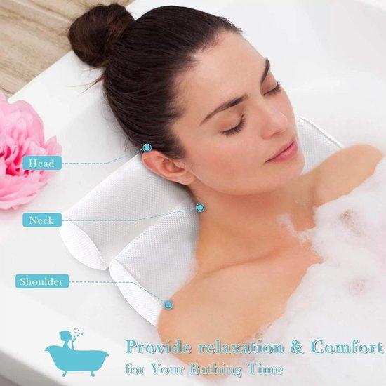 FlinQ Zitbad - ontspannen met ee hoofd nek kussen - zitbad voor volwassenen - bath Bucket - www.ZitBadXL.nl