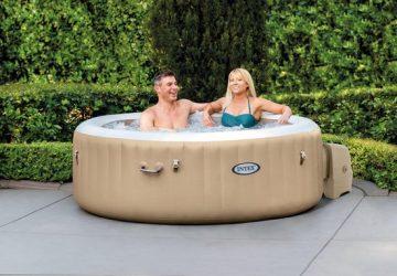 Intex PureSpa Bubble Massage opblaasbare spa - Jacuzzi voor 4 personen - www.ZitBadXL.nl