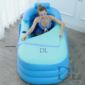Opblaasbaar Ligbad kopen - Zitbad Voor Volwassenen - D&L opblaasbad volwassenen - ZitBadXL.nl