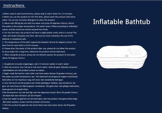 Opblaasbaar Ligbad voor thuis - Zitbad Voor Volwassenen - Easy Bath opblaasbad volwassenen review - ZitBadXL.nl