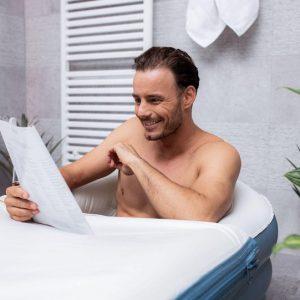 Tubble Bathtub Basic opblaasbaar Zitbad - ZitBadXL.nl