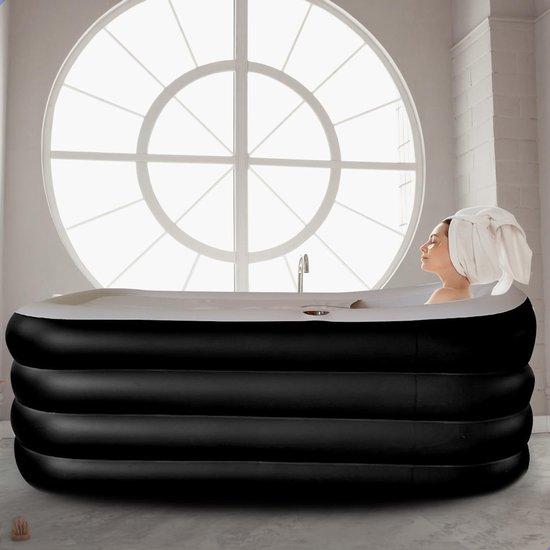Worte Opblaasbaar ligbad kopen - Zitbad Voor Volwassenen - opvouwbaar bad - ZitBadXL.nl