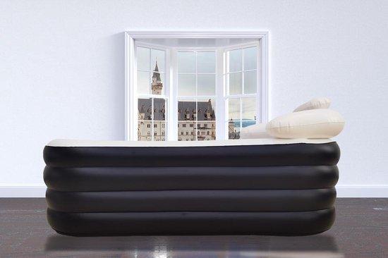 Yaqubi opblaasbaar ligbad Voor Volwassenen - Opblaasbaar zitbad voor thuis - Flexibel en opvouwbaar - www.ZitBadXL.nl