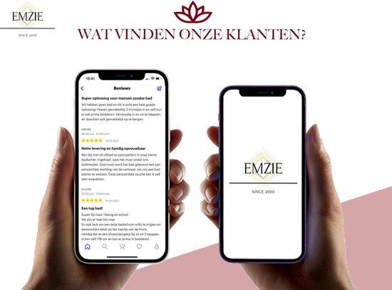 Emzie Opvouwbaar bad XL 133cm Roze - Bath bucket voor volwassenen – Lees de reviews van klanten - www.ZitBadXL.nl