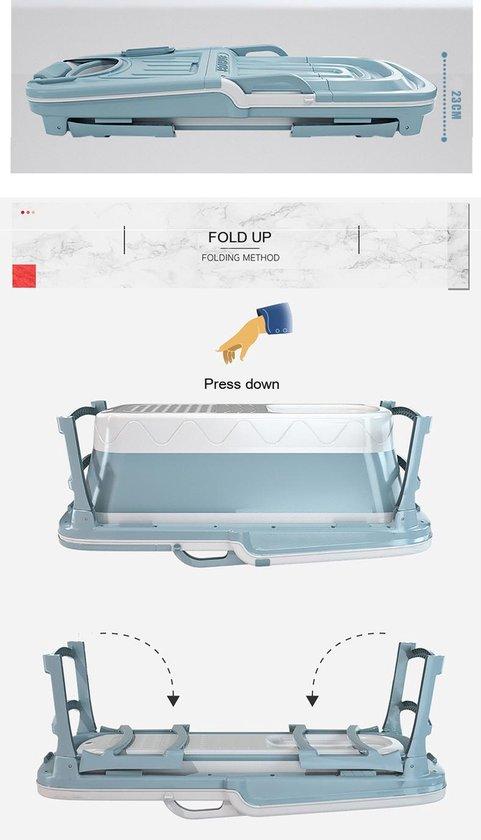 Foresta opvouwbaar bad voor volwassenen - inklapbaar bad - Bath Bucket - www.ZitBadXL.nl