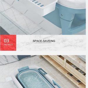 Foresta opvouwbaar bad voor volwassenen - vrijstaand ligbad - Bath Bucket - www.ZitBadXL.nl