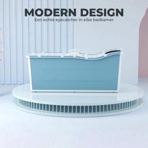 Foresta inklapbaar ligbad XL - ZitBad voor Volwassenen - bath Bucket 2.0 - opvouwbaar bad - Modern design - www.ZitBadXL.nl