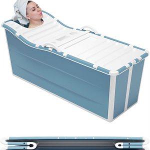 Foresta inklapbaar ligbad XL - ZitBad voor Volwassenen - bath Bucket 2.0 - opvouwbaar bad - plastic badkuip - www.ZitBadXL.nl
