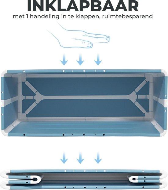 Foresta inklapbaar ligbad XL - ZitBad voor Volwassenen - bath Bucket 2.0 - opvouwbaar bad - plastic inklap badkuip - www.ZitBadXL.nl