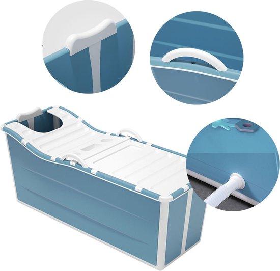 Foresta inklapbaar ligbad XL - ZitBad voor Volwassenen - bath Bucket 2.0 - opvouwbaar bad - plastic ligbad - www.ZitBadXL.nl