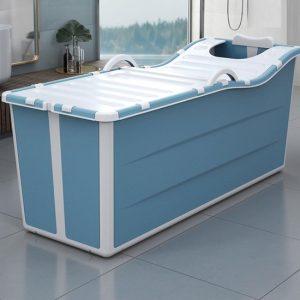 Foresta inklapbaar ligbad XL - ZitBad voor Volwassenen - bath Bucket 2.0 - opvouwbaar bad - plastic zitbad - www.ZitBadXL.nl