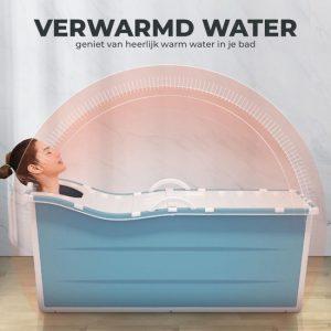 Foresta inklapbaar ligbad XL - ZitBad voor Volwassenen - bath Bucket 2.0 - opvouwbaar bad - verwarmd water - www.ZitBadXL.nl