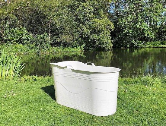 HelloBath - Bath Bucket XL - voor binnen en buiten - flexibel zitbad voor volwassenen - www.ZitBadXL.nl