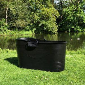 HelloBath - Bath Bucket XL - voor buiten en binnen - flexibel zitbad voor volwassenen - www.ZitBadXL.nl