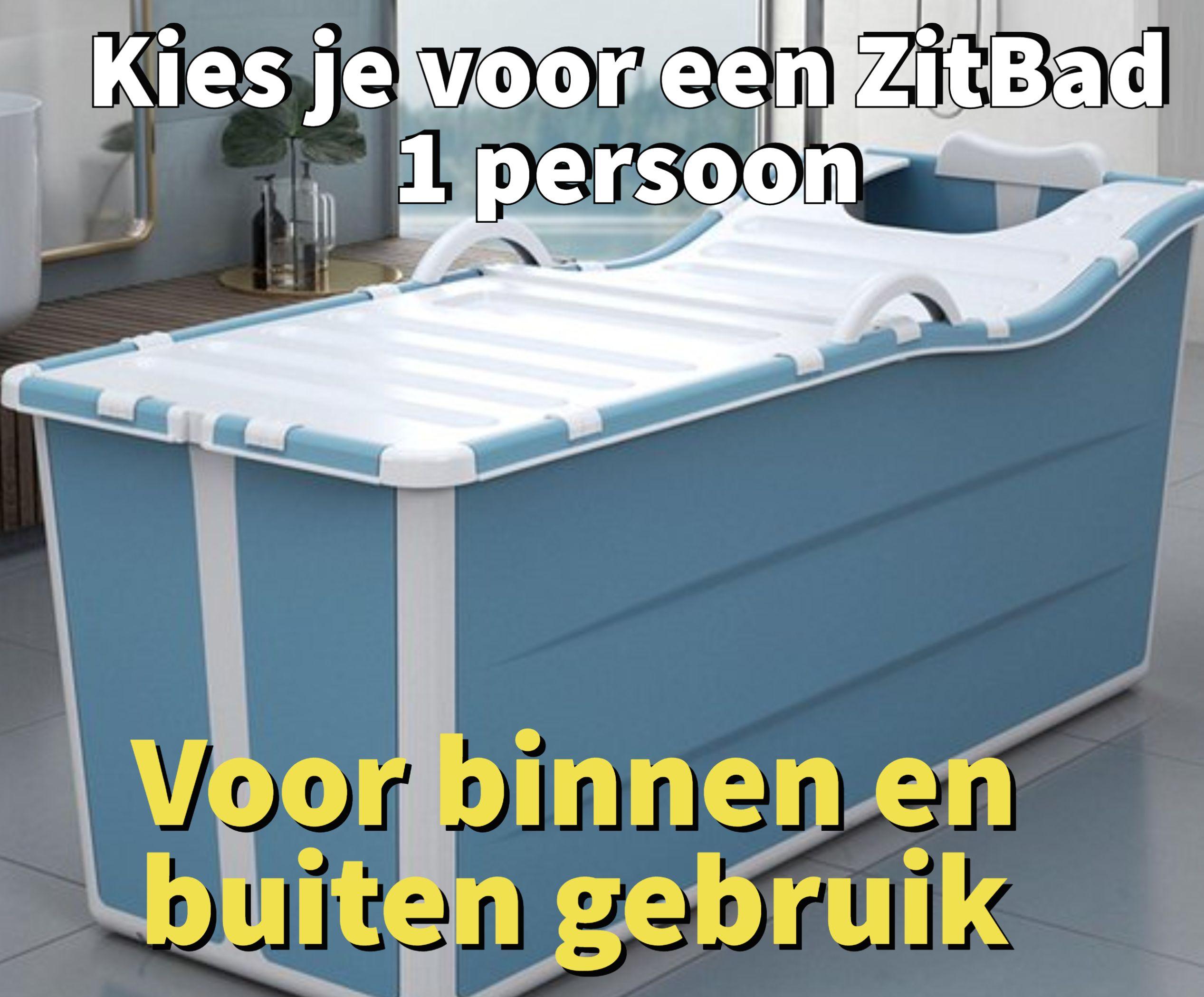 Kies je voor een Zitbad 1 persoon - www.ZitBadXL.nl