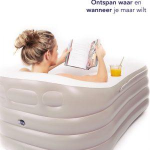 Spätter Opblaasbaar bad - Opblaasbare ligbad, badkuip, Zitbad, Tubble - Opblaasbaar bad voor volwassenen- www.ZitBadXL.nl