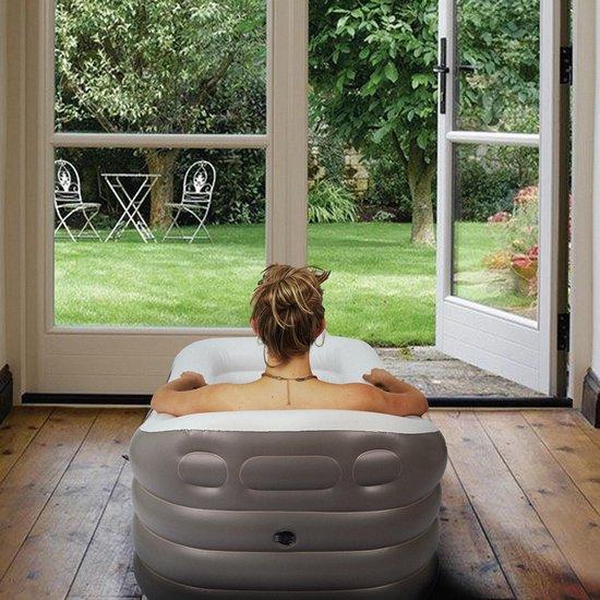 Spätter Opblaasbare bad - Opblaasbaar ligbad, badkuip, Zitbad, Tubble - Opblaasbaar bad voor volwassenen- www.ZitBadXL.nl