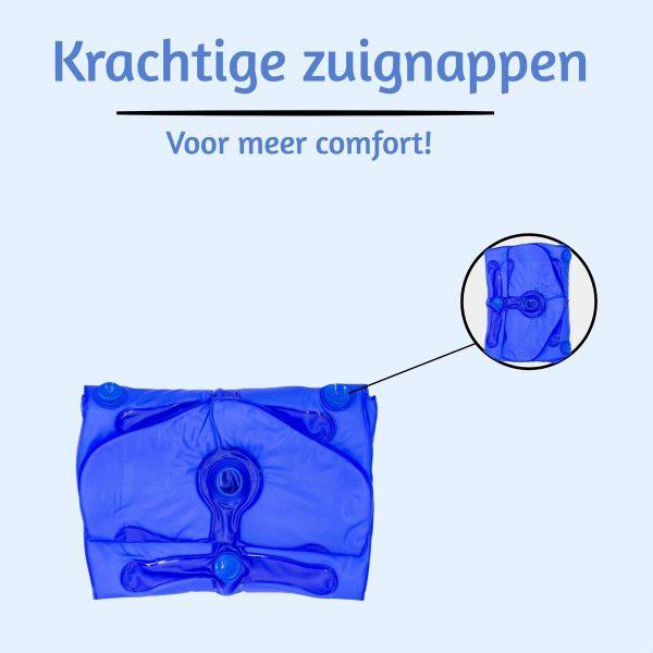 Bubbelbadmat Impulsion MH01 voor in een ZitBad - Bubbel op je eigen mat in je zitbad - meer comfort- www.ZitBadXL.nl