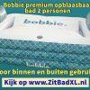 Bobbie premium opblaasbaar bad voor 2 personen - Opblaasbare ligbaden voor 2 personen - www.ZitBadXL