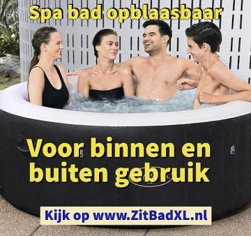 Spa bad opblaasbaar - Zitbad voor Volwassenen - Zitbad XL kopen - www.ZitBadXL.nl