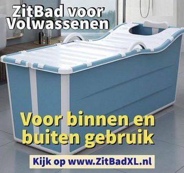 Zitbad voor Volwassenen - www.ZitBadXL.nl